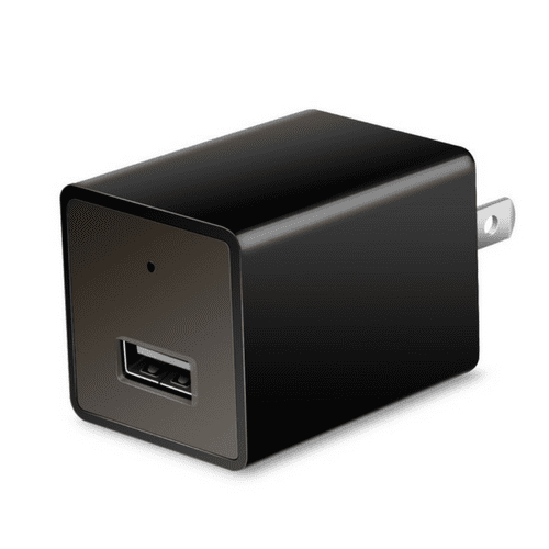 1080P HD Live Streaming Wall Charger Hidden Camera