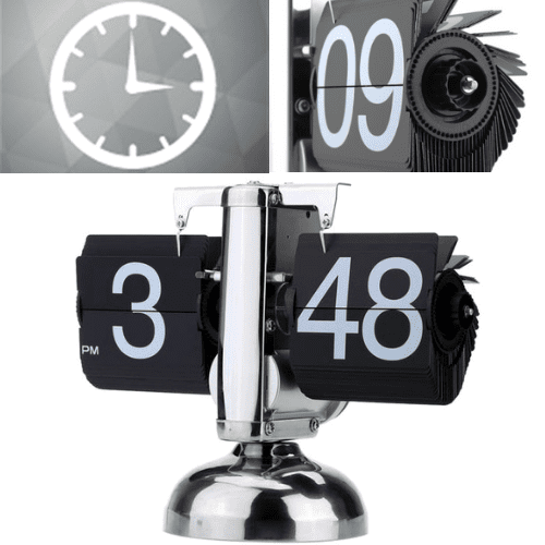 Vintage Flip Clock - Retro Digital Flip Clock