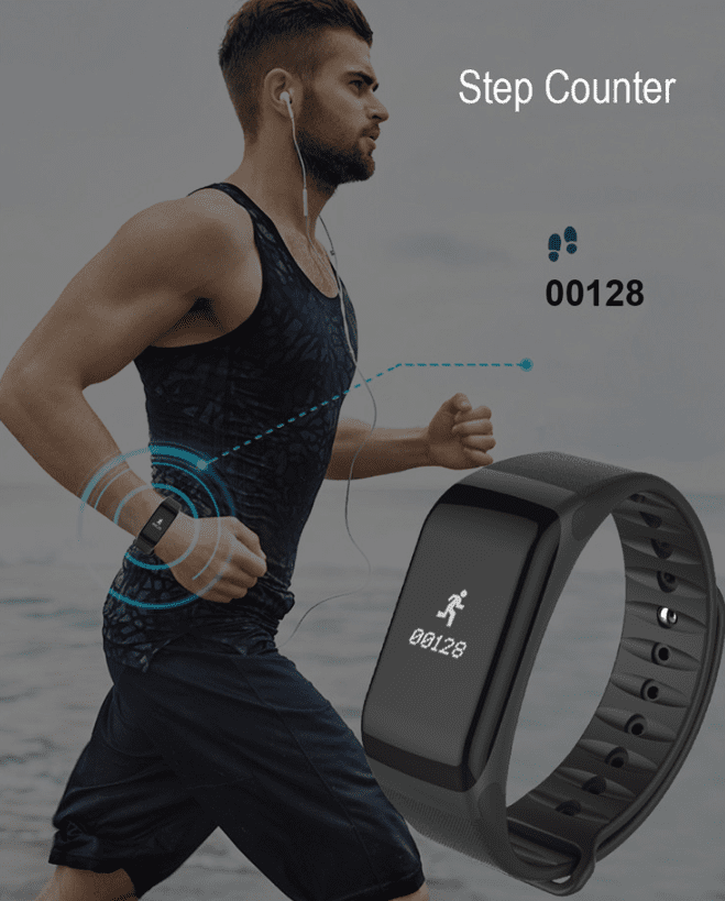 Blood Pressure Smart Wristband - Heart Rate, Blood Oxygen, Sleep Tracker - Special