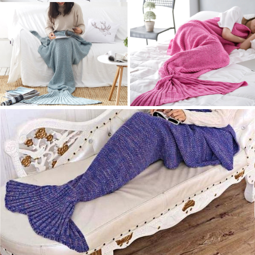 Mermaid Blanket - Mermaid Tail Blanket