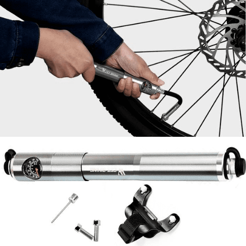 #1 Portable Mini Bike Pump