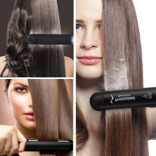 Argan Oil Steam Hair Straightener