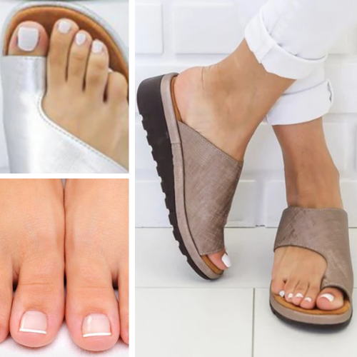 The Best Sandals For Bunion - Bunion Corrector Sandals