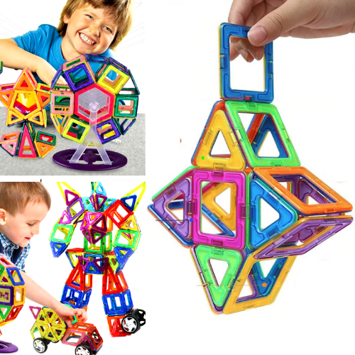 Original Magical Magnetic Blocks Educational Toys