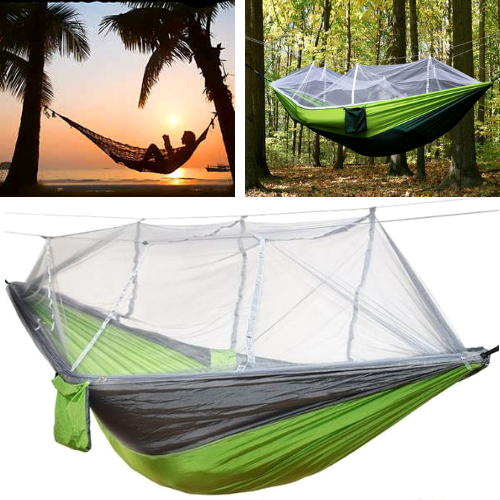 Hammock Tent - Lightweight Portable Camping Hammock With Mosquito Net