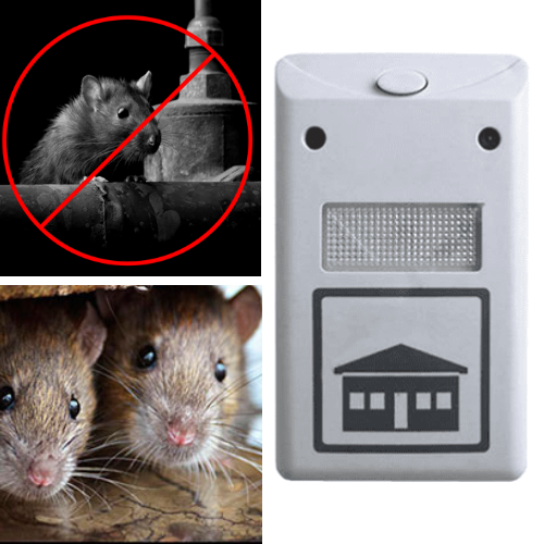 The Best Ultrasonic Mouse Repeller - Rat Repeller