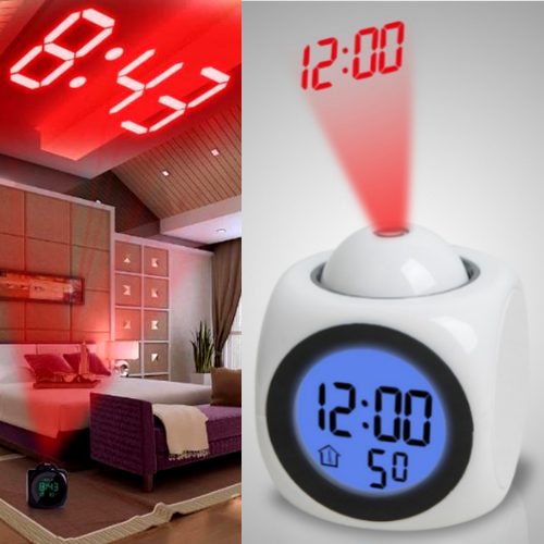The Best Projection Clock - LED Projection Clock