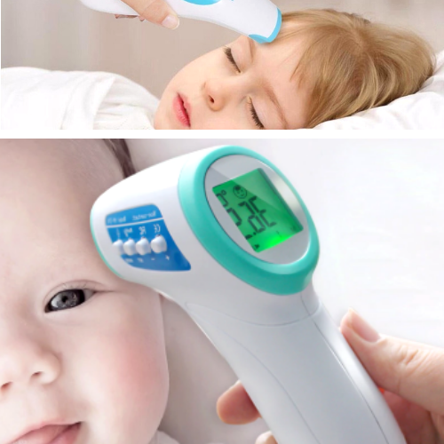 #1 Digital Forehead Thermometer