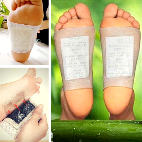 Best Selling Natural Detox Foot Pads - 10 pcs