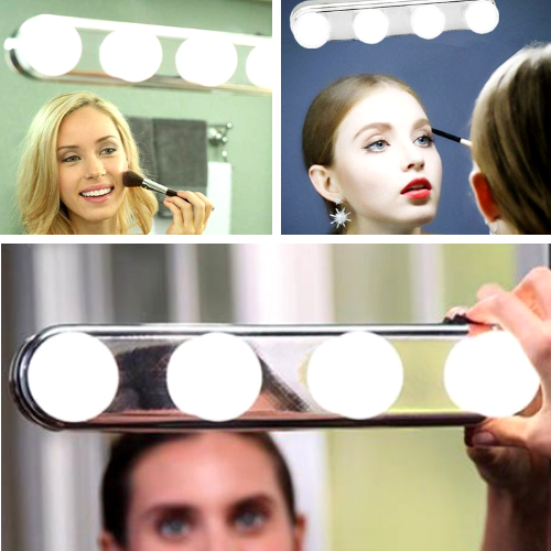 Portable LED Makeup Mirror Light