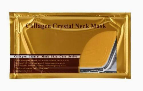 24K Gold Collagen Neck Mask