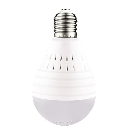 Hidden Camera Light Bulb - Wireless Light Bulb Home Security Camera