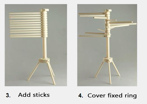 The Best Pasta Drying Rack