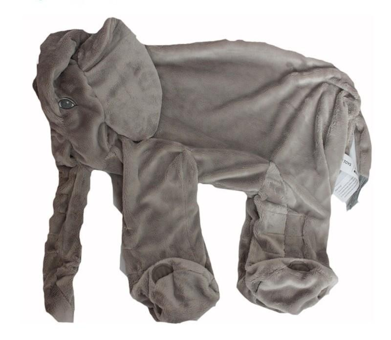 Elephant Plush Pillow - Soft & Comfy