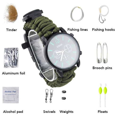 Military Tactical Watch - Military Survivalist Watch