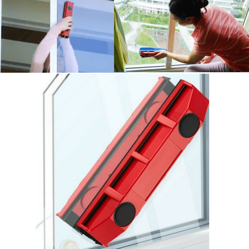 #1 Magnet Glass Window Cleaner - Best Way to Clean Outside Window