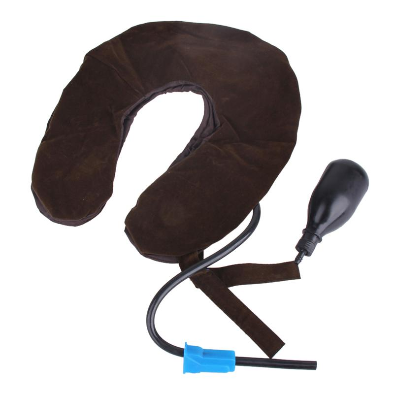 INSTANT NECK PAIN RELIEF - Cervical Neck Traction Device - Inflatable