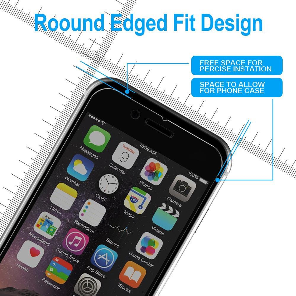 Privacy Screen Protector Tempered Glass - Anti Peeking, Spy, Glare and Scratch - For iPhone