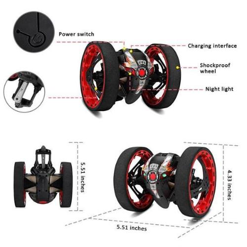 Original Remote Control Jumping Car - High Jump RC Dragon Car