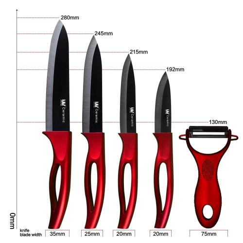 The Best Ceramic Knives Set - 5 pcs