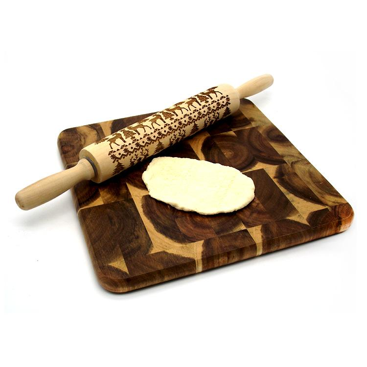 The Original Christmas Embossed Rolling Pin - Special