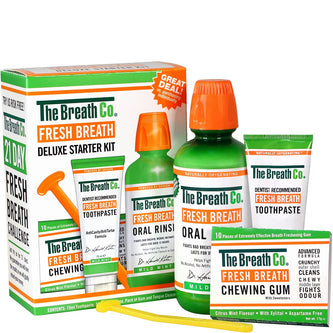 Image: The Breath Co Fresh Breath Deluxe Starter Kit