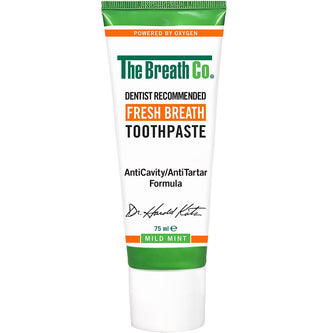 Image: The Breath Co Fresh Breath Mild Mint Toothpaste 75ml