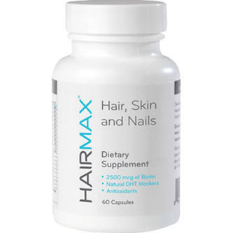Image: HairMax Dietary Supplements - 60 capsules