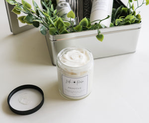 Primitive-Whipped body butter with tea tree, sage + eucalyptus