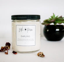 Darling- Whipped body soufflé with rose, ylang ylang, sandalwood + a touch of shimmer