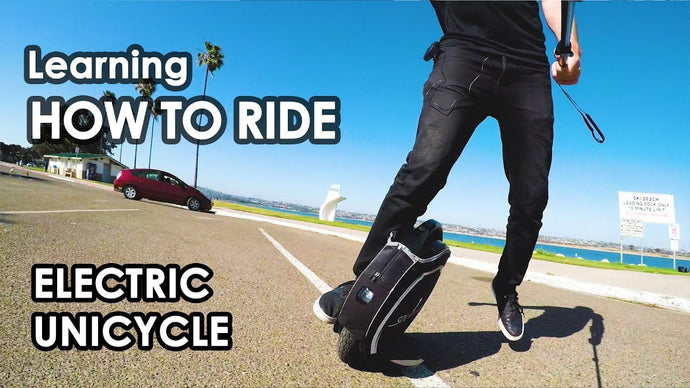 Tutorials - How To Ride An Electric Unicycle