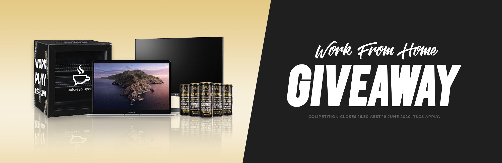 The Ultimate Work From Home Giveaway Banner