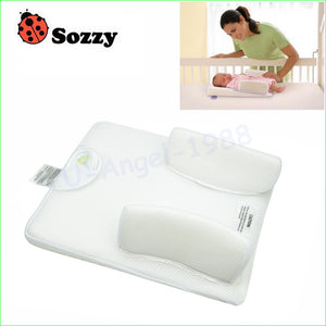 1pc Sozzy Comfortable Baby Sleeping Pad Pillow Baby Bed Shaping Pillow