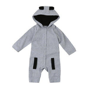 2017 New Newborn Clothes Fox Baby Boy Girl Romper Long Sleeve one piece suit baby clothing jumpsuit Infant Product