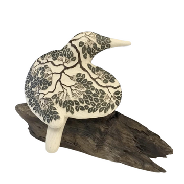 Tree Carved Bird #685