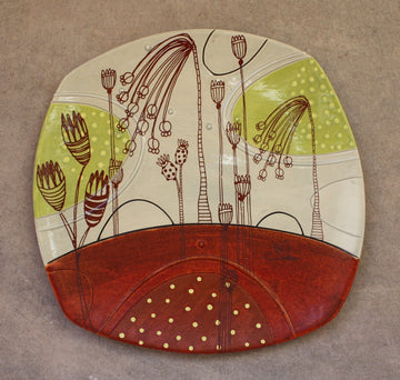 Large Deco Plate BP9