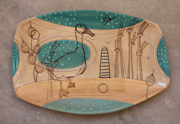 Long Deco Platter BP35