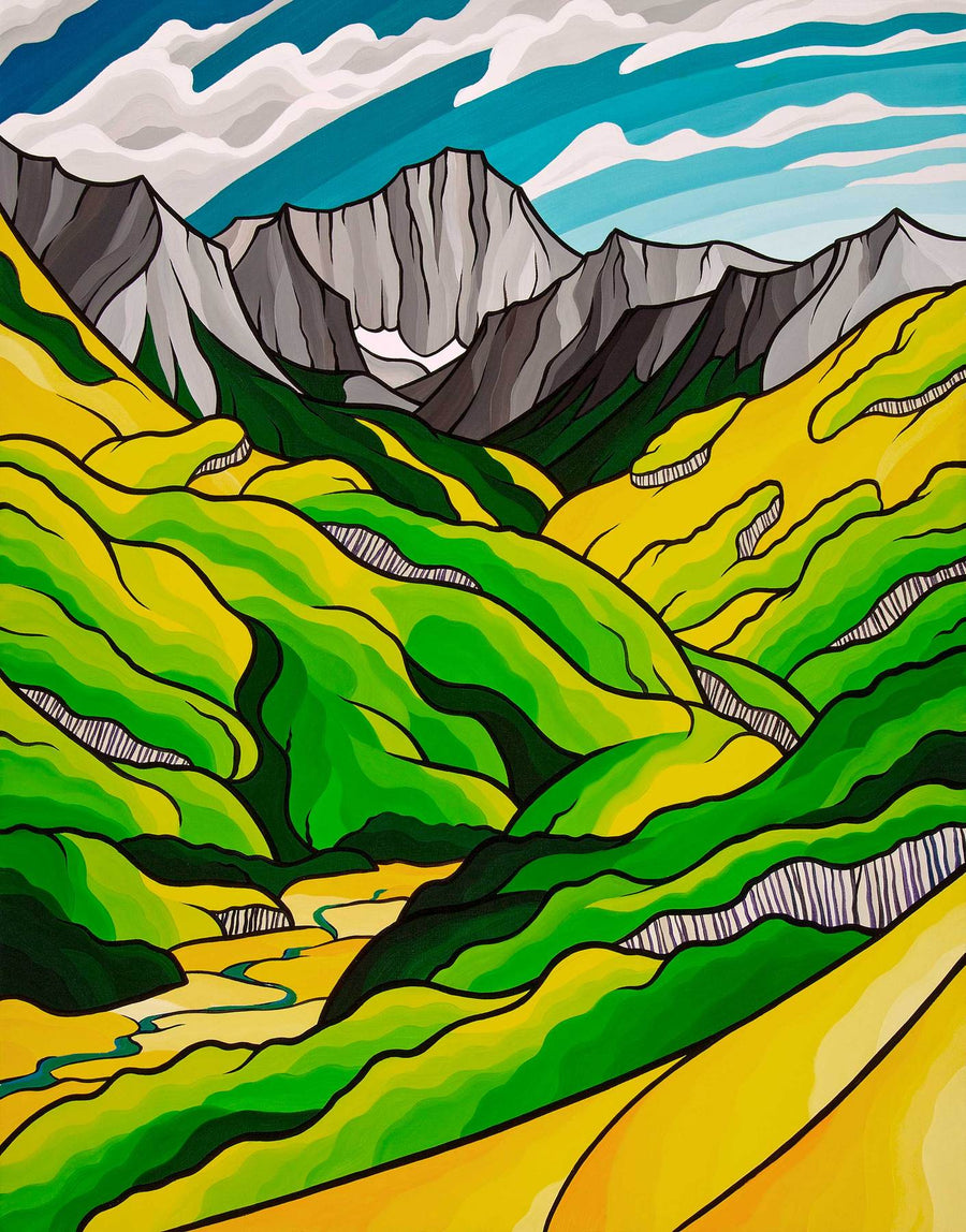 Capitol Peak Original Painting
