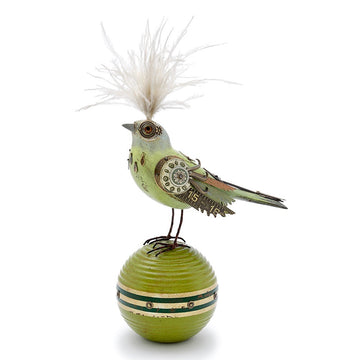 Pastel Bird on Ball #816