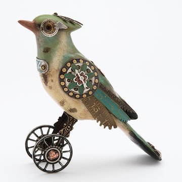 Green Jay on Wheels #94