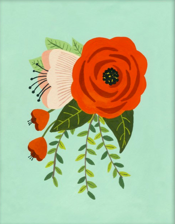 Folk Art Flowers No. 2