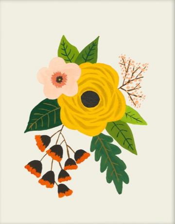 Folk Art Flowers No. 3