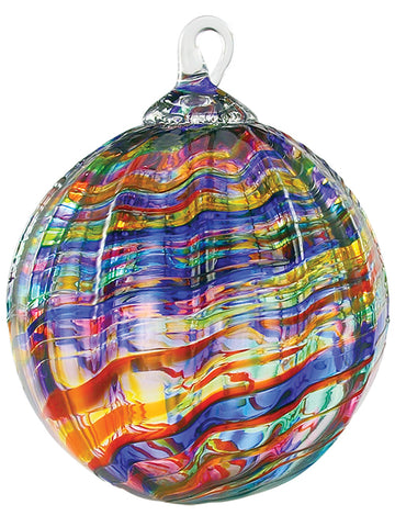 Rainbow Kaleidoscope Ornament