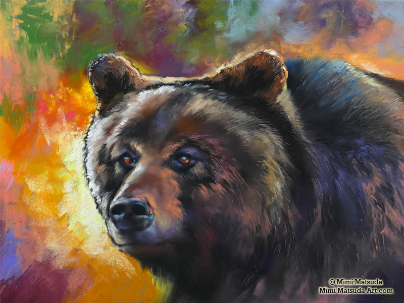 Grizzly (portrait)
