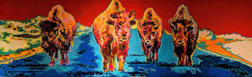 Gardiner Bison original painting