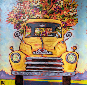 Yellow Flower Truck