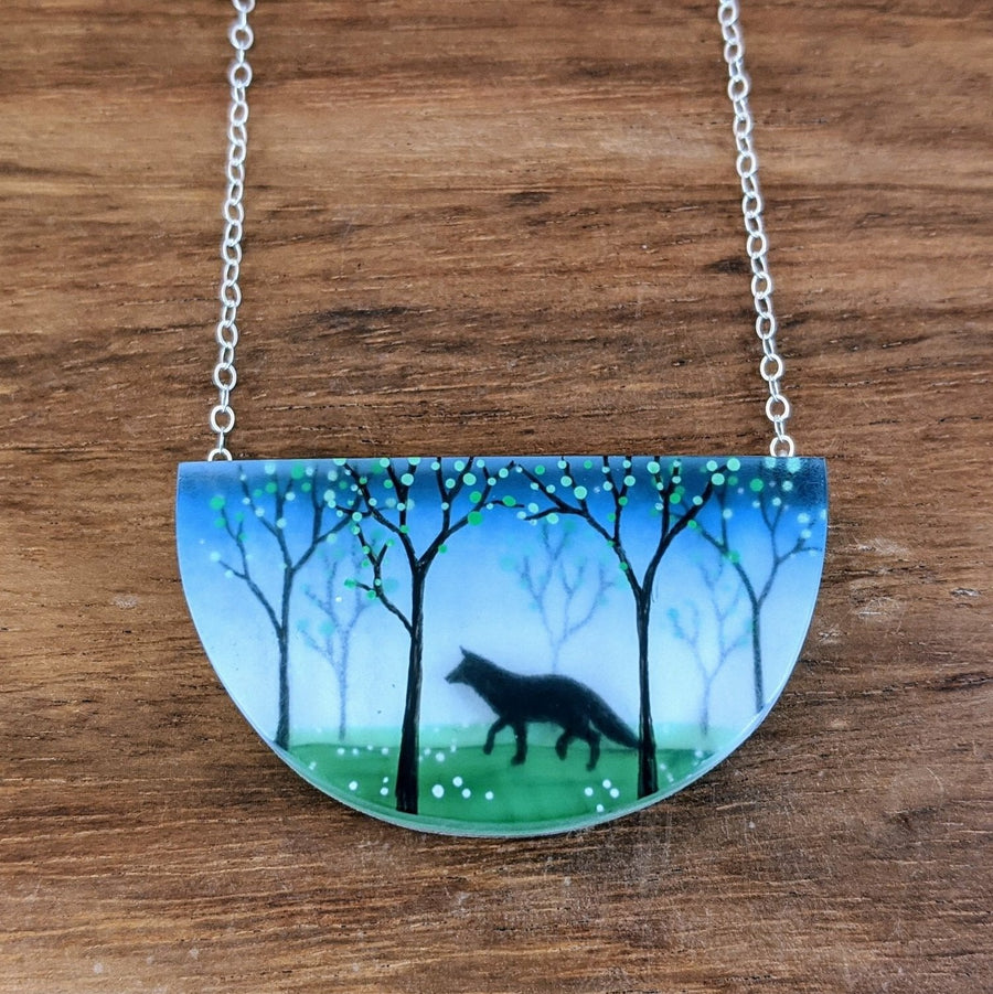 Foxy Forest Necklace
