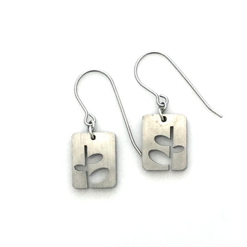 Stem Relief Earrings