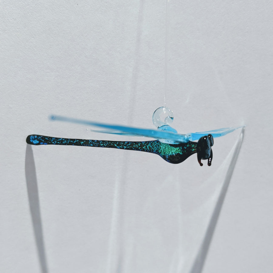 Dichroic Glass Dragonfly