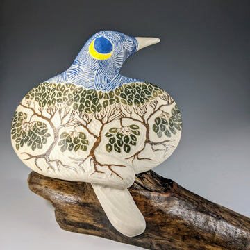 Forest Carved Bird #690